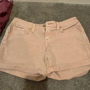 Pants - Blush pink high rise shorts stretch